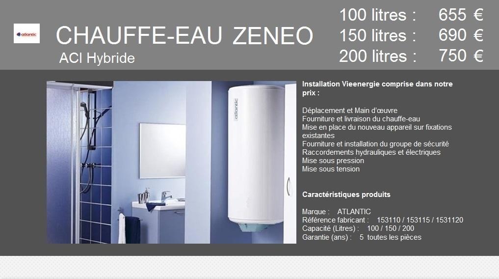 ZENEO Vertical Mural 100/150/200 Litres